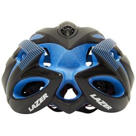 Lazer O2 DLX Fietshelm blauw/zwart